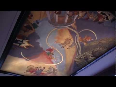 fresco-mural-on-ceiling-at-comma---city-of-morganton-municipal-auditorium