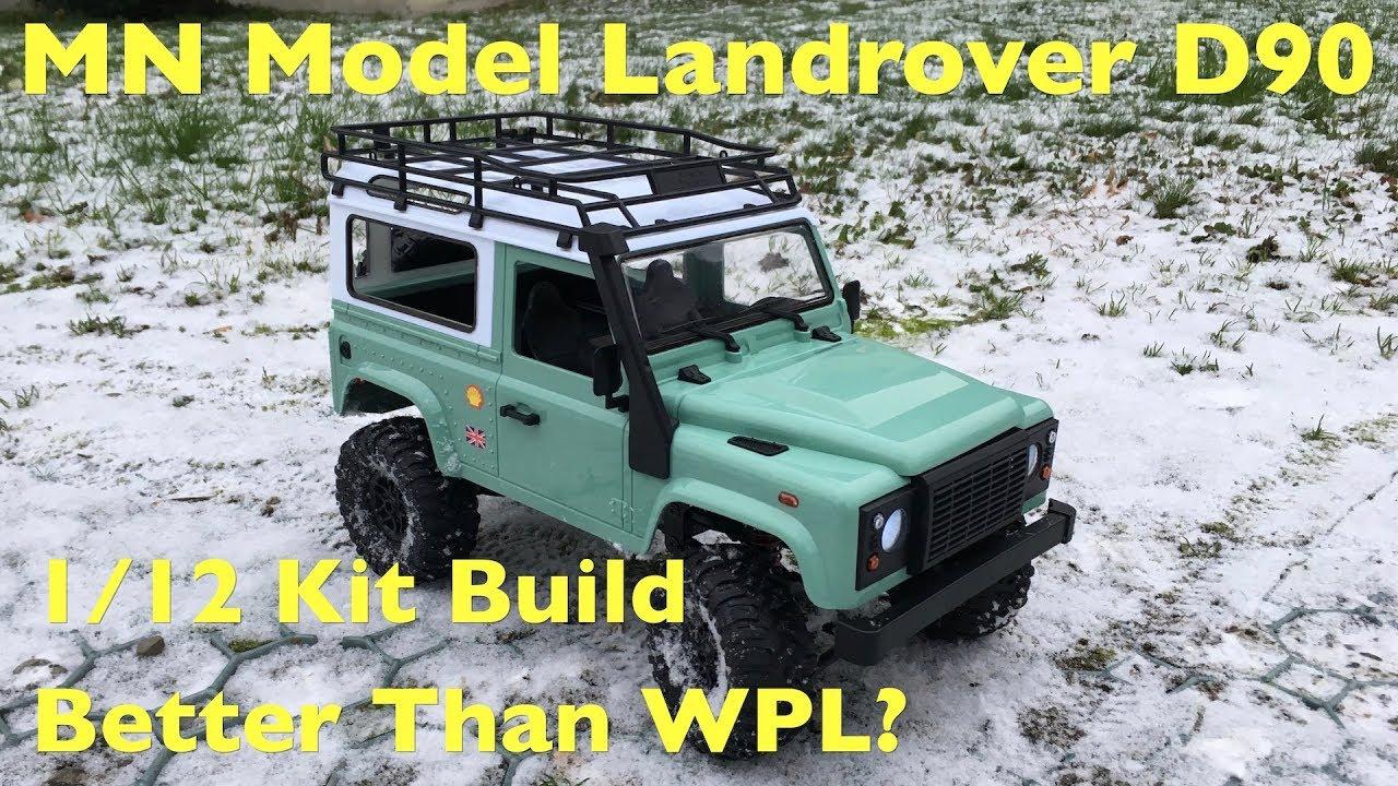 MN Model D90 Land Rover Defender: Dirt Cheap 1:12 Crawler Kit Build! Better  Than WPL?