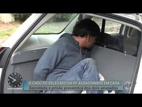 Suspeitos de matar delegado dentro de casa têm prisão decretada | Primeiro Impacto (16/05/18)
