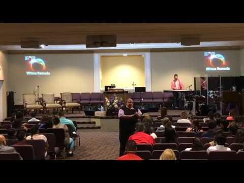Evang. Hector Delgado Predicando En San...