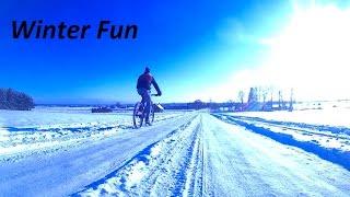 Winter fun. [ATV-MTB]