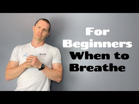 When to Inhale and Exhale During a Workout