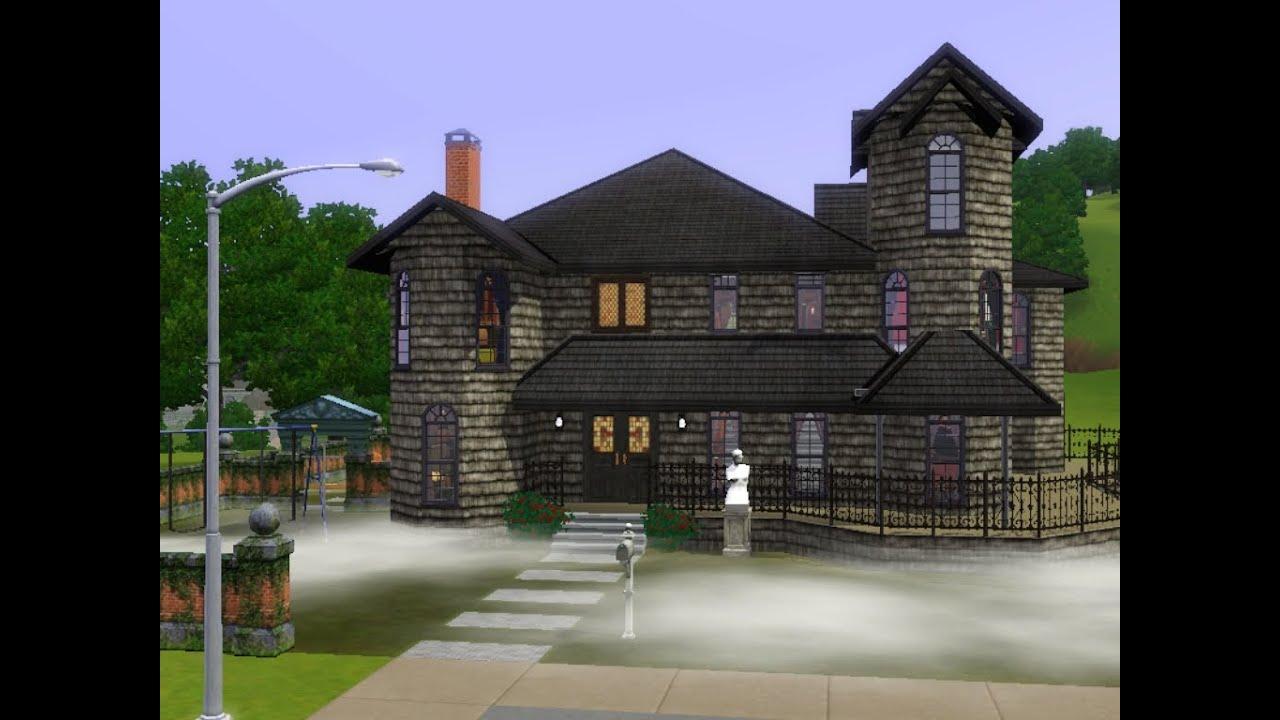 Construindo casa dark g tica inspirada no the sims 2 para for Casa revival gotica