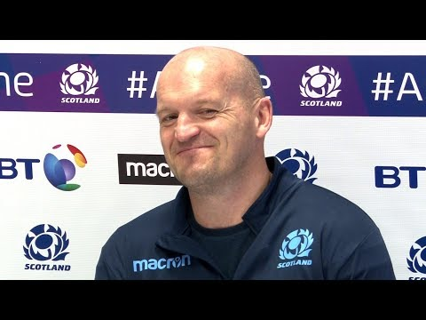 Gregor Townsend Press Conference - Announces Scotland Six Nations Squad