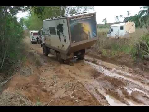 Route Dolisie Rep. Congo-Luozi DR Congo