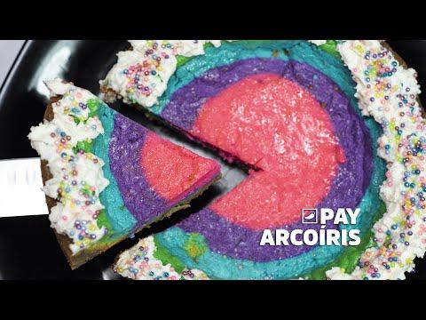 Aprende a preparar un delicioso #PayArcoiris | CHILANGO