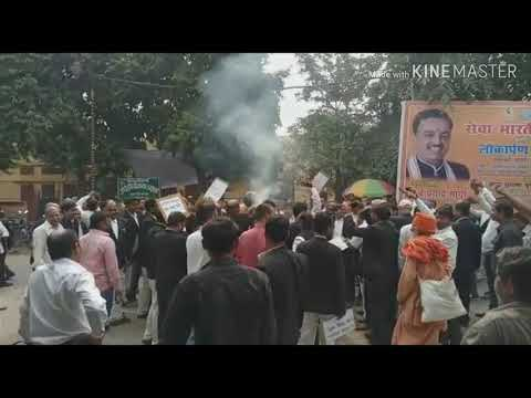 Lawyers go on strike in Varanasi