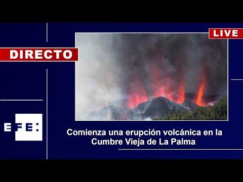 Volcán en Canarias se traga un centenar de casas y obliga a masiva evacuación