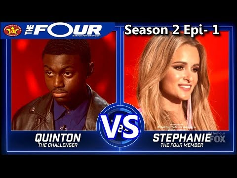 "Stephanie Zelaya vs Quinton Ellis ""Mi Gente"" ""So Sick"" & RESULTS The Four Season 2"