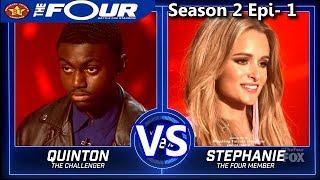 "stephanie zelaya vs quinton ellis ""mi gente"" ""so sick"" results the four season 2"