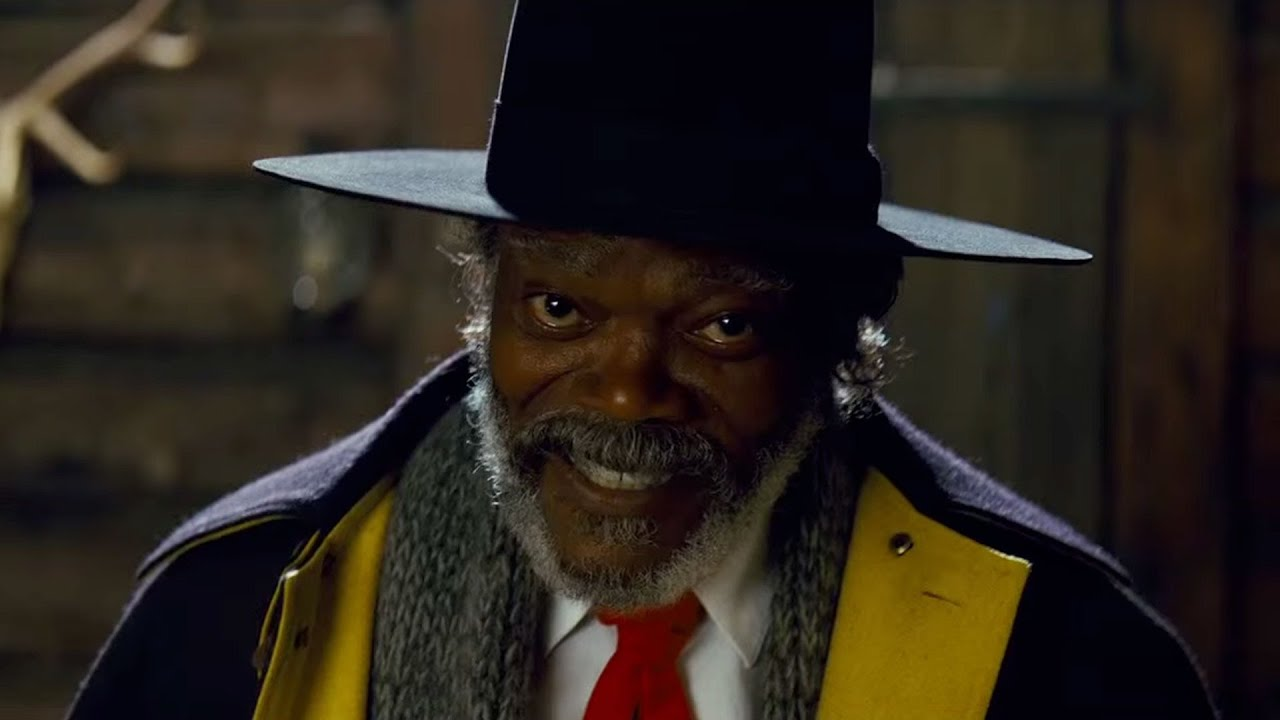 The Hateful Eight - Samuel L. Jackson Interview - YouTube