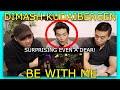 Dimash Kudaibergen - Be With Me   Asian Australian Reaction