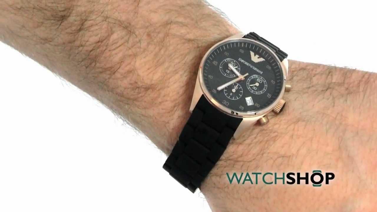 afe330024f Unisex Emporio Armani Chronograph Watch (AR5906) | WatchShop.com™