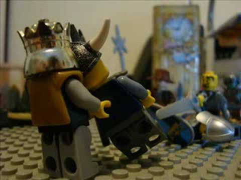 Lego Knight Vs Viking Youtube
