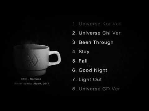 EXO Full Album - EXO - UNIVERSE Winter Special Album 2017
