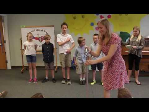 Czech and Slovak School of North Carolina - Year End Show