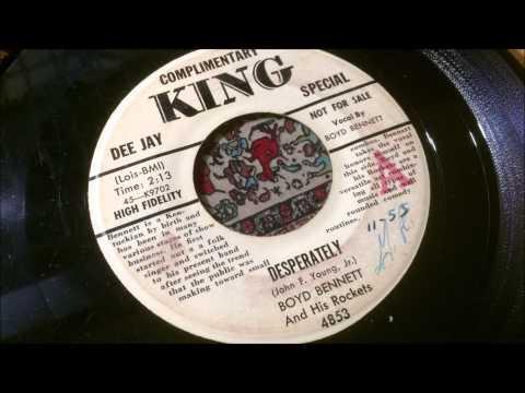 45 RPM: Boyd Bennett & his Rockets - Desperately