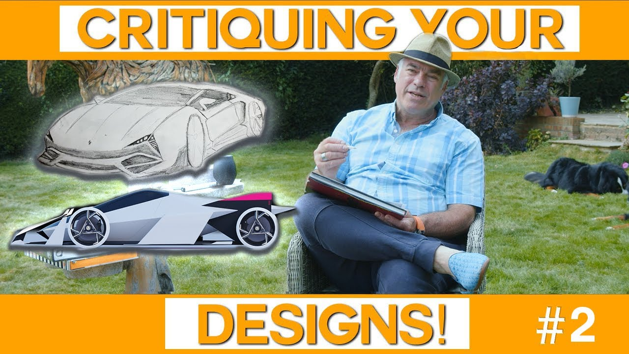 Critiquing YOUR Designs! | Tips on Perspective Drawing & A GranTurismo Concept | Ep.2