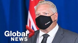 Coronavirus: Doug Ford says Ontario has entered 2nd wave of COVID-19 | FULL