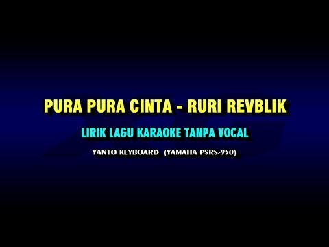 PURA PURA LOVE Ryan Republic Lyrics Karaoke Without Vocals