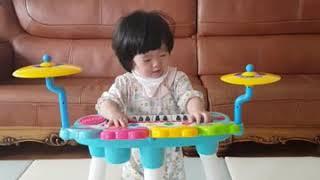 핑크퐁 상어가족, 상어가족 피아노, 신나는 우리딸~