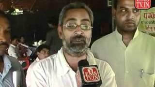 Rajdhani Media all mp jounalist dharna against dpr bhopal - @samachar seva