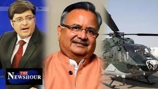 Chhattisgarh CM Raman Singh Involved in AgustaWestland Scam: The Newshour Debate (12th May 2016)