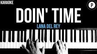 Baixar Lana Del Rey - Doin' Time Karaoke Acoustic Piano Instrumental Lyrics