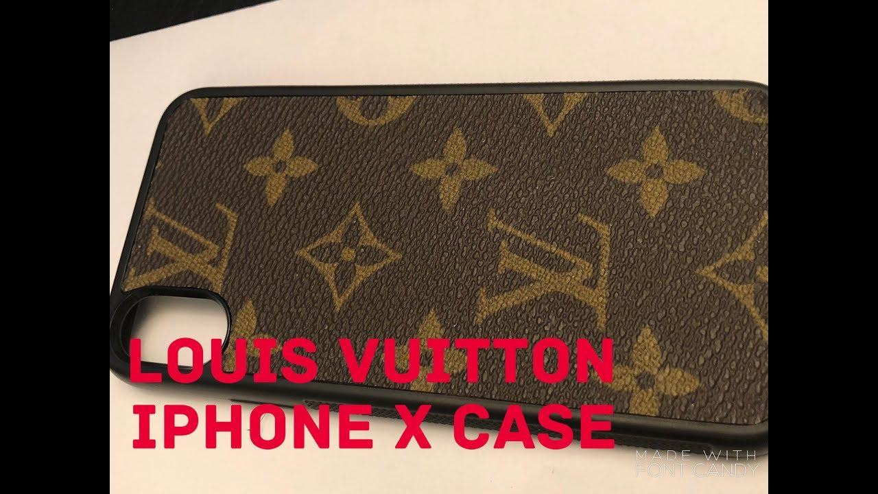 detailing c771c 0867d Louis Vuitton iPhone X Case -Detroit Custom Slides