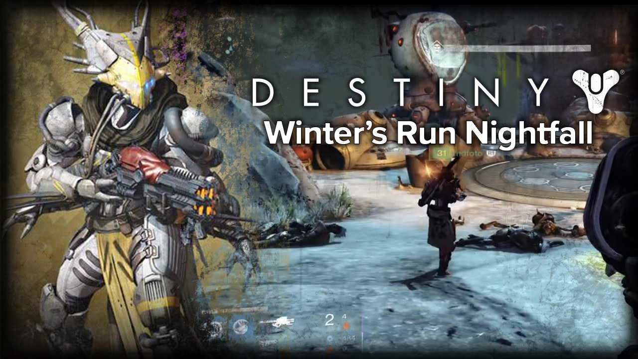 SBros: Destiny: Winter's Run Nightfall