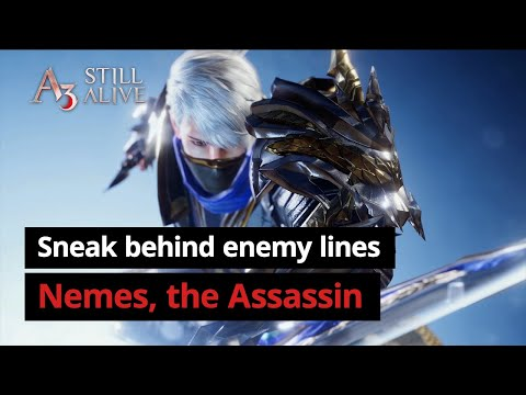 Assassin | Character Introduction Video | A3: STILL ALIVE