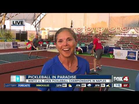 Minto U.S. Open Pickleball Championship Returns To Naples - 7am Live Report