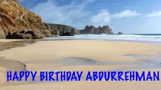 AbdurRehman   Beaches Playas - Happy Birthday