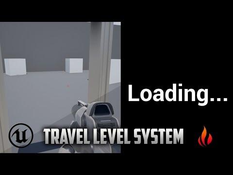 Unreal Engine 4 - Travel between Maps