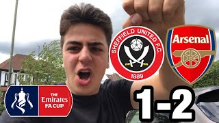 SHEFFIELD UNITED 1-2 ARSENAL MATCH REACTION - WE'RE GOING TO WEMBLEY!!!