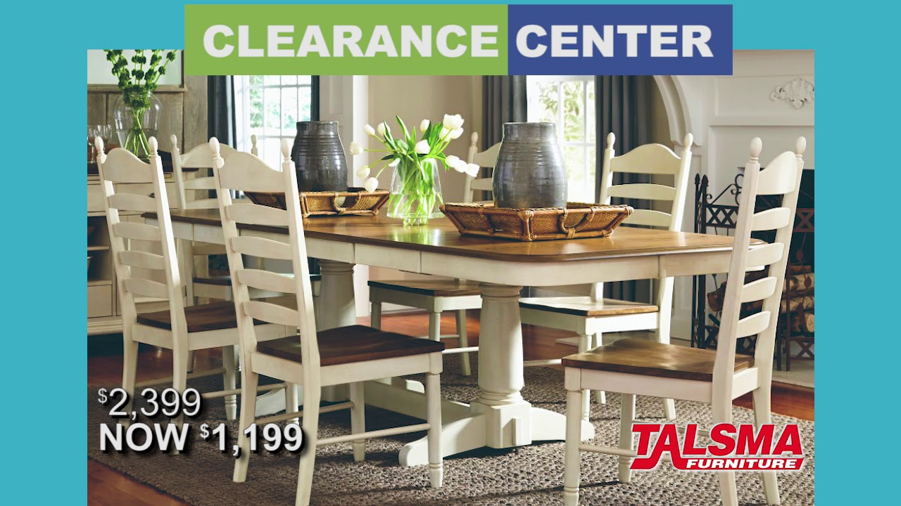 The Clearance Center Inside Talsma Furniture Youtube