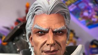 White MAGNETO by XM STUDIOS Statue Unboxing & Review