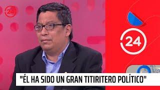"""Experto por muerte de Alan García: """"Él ha sido un gran tit..."""