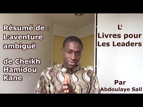 Livres Pour Leaders N 04 Resume De L Aventure Ambigue De Cheikh Hamidou Kane Youtube