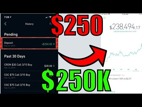 How I'm Turning $250 Into $250,000 Trading Options – Robinhood Options