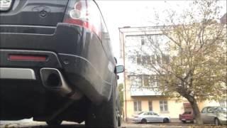 Range Rover Sport (звук выхлопа без катализатора)