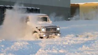 Гелендваген и снег [Подборка] (2015) - Gelandewagen AMG vs. Snow [Compilation] (2015)