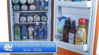 Smeg 50s Retro Style Mini Refrigerator FAB5 - Overview