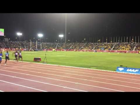 Mens 100m Doha Diamond League 2017