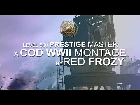 Red Frozy - Level 500 Prestige Master Montage