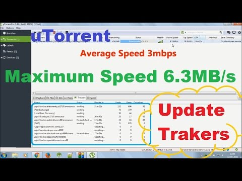 Increase Torrent Download Speed Up To 6.3Mbps With PROVE