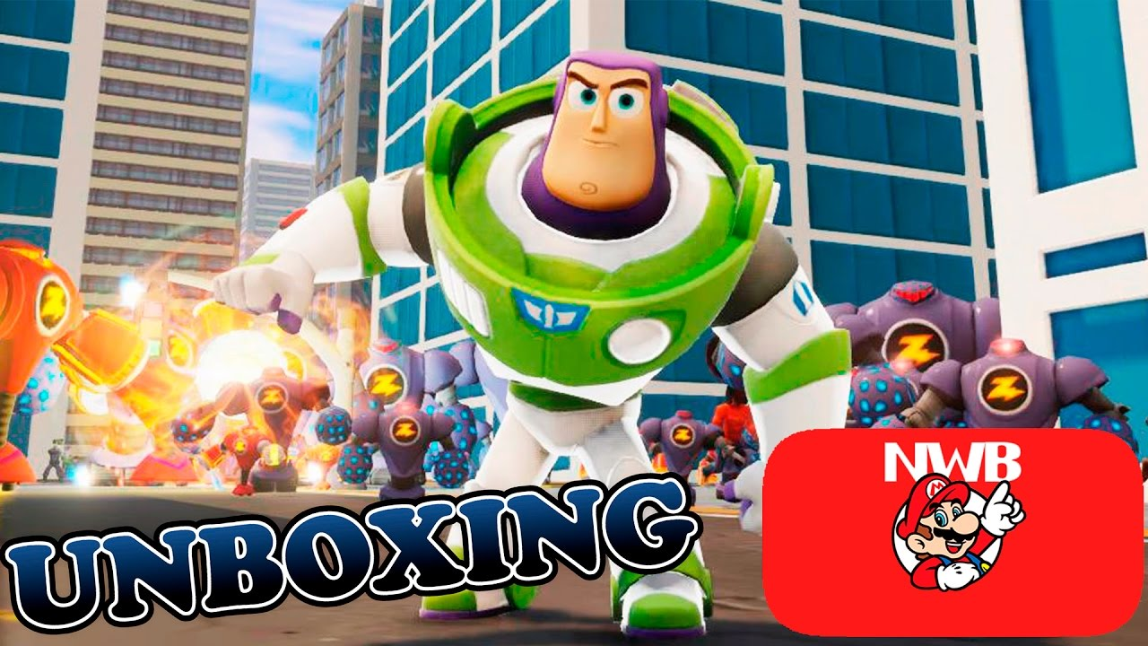 Unboxing - Crystal Buzz Lightyear (Disney Infinity) - YouTube