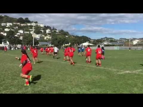 Wellington Samoan Women 25 Wellington Tongan Women 12