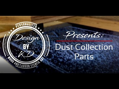 DIY CNC Dust Collection Parts