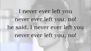 Never Gone - Colton Dixon (With Lyrics)